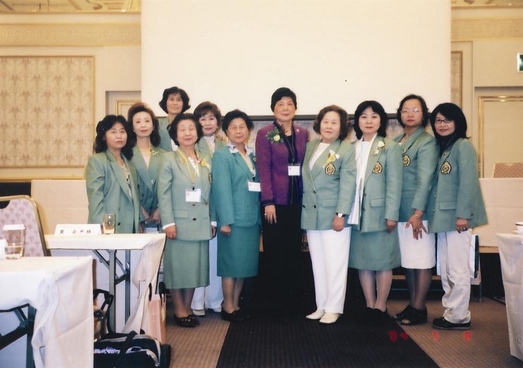 姉妹クラブの台湾・台中ZC代表者を歓迎