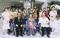 岡山赤十字病院へ車椅子10台贈呈_