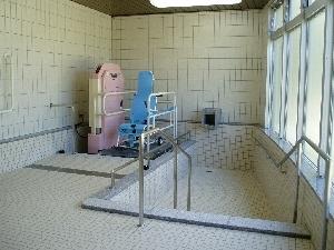 デイサービス浴室(リフト浴)