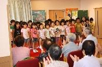 保育園児の慰問会