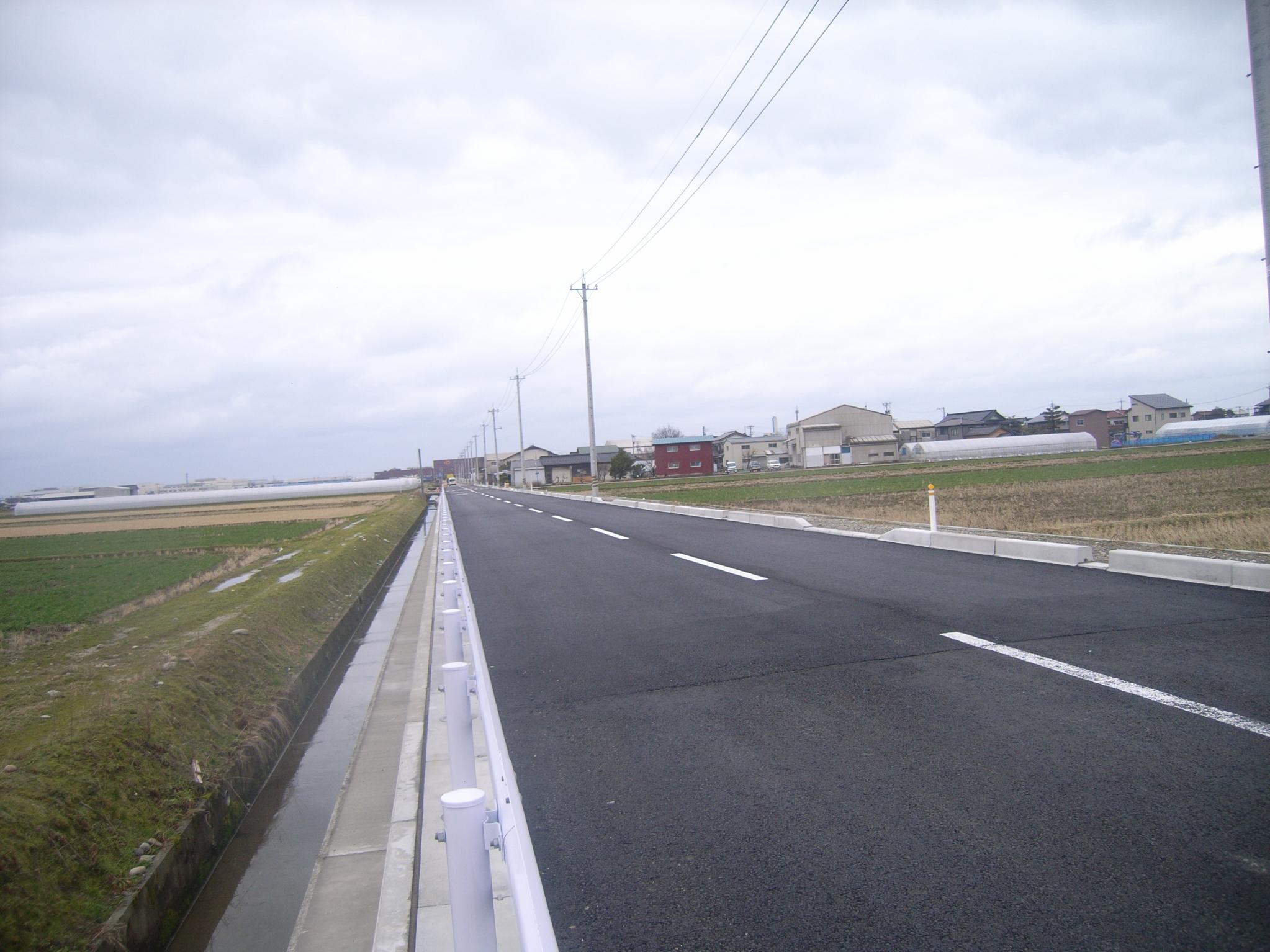 市道米永松本線道路改良工事(海側8工区)