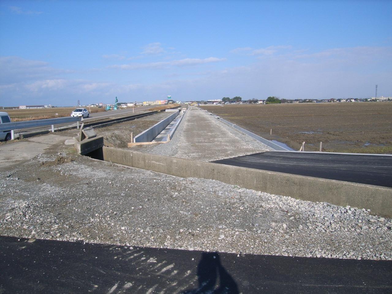 主要地方道 金沢美川小松線 地方道改築工事(改良工その3)