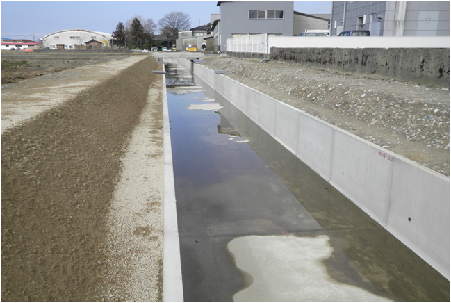 平成27年度 用排水施設整備事業 郷用水第3地区 水路工事その3