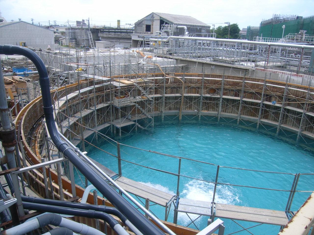 加賀製紙㈱様 円形水槽築造工事