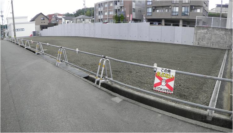 ニトリ金沢田上店様 駐車場造成工事