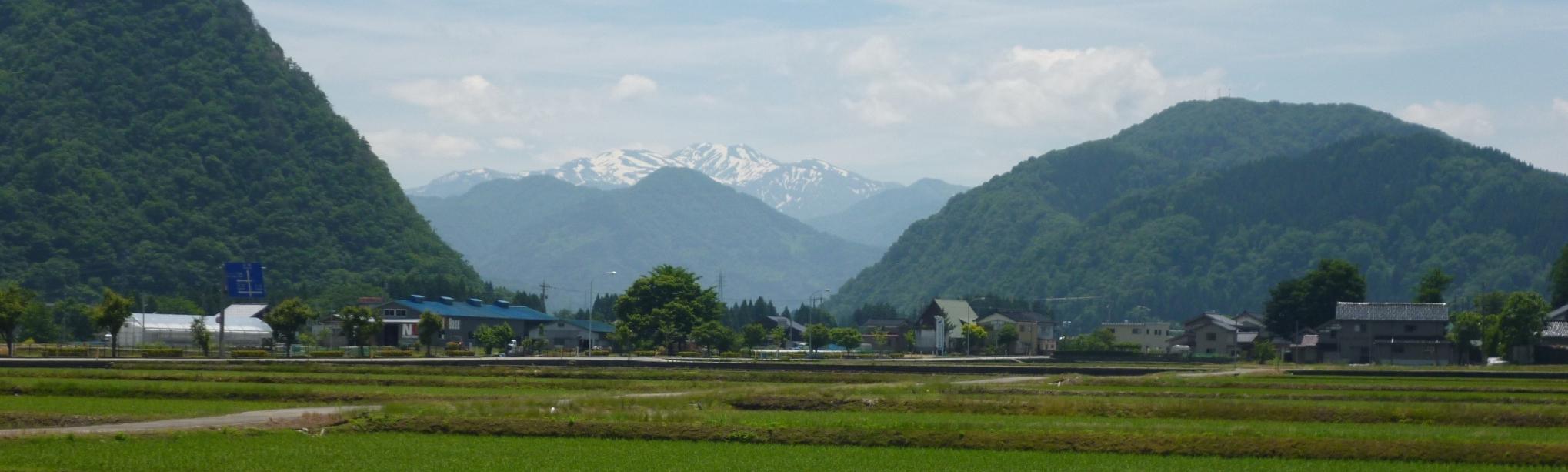 白山と高倉山