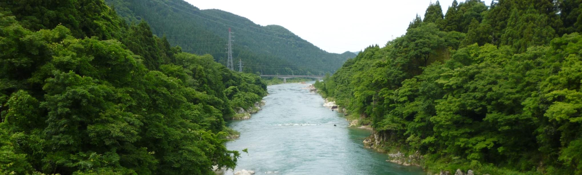 中島鉄道橋下流