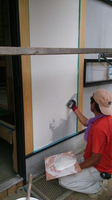 漆喰壁施工