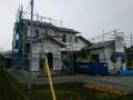 防水透湿シート施工