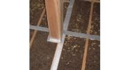 炭化コルク床パネル