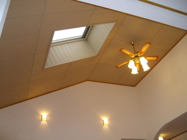リヴィング天井
