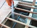 1階床組:防蟻処理 薬剤吹き付け