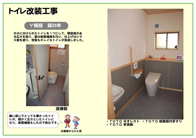 Y様邸トイレ改装工事