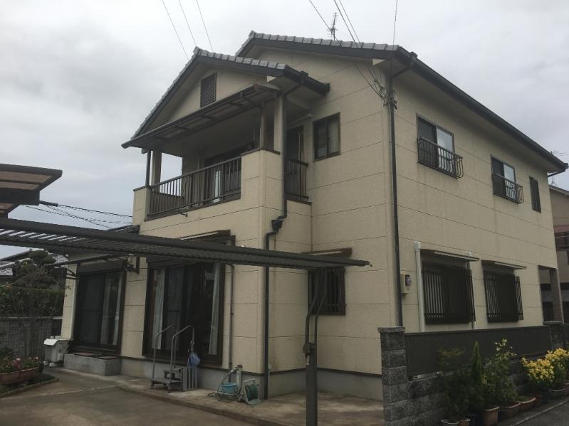 姫路で外壁塗り替え前