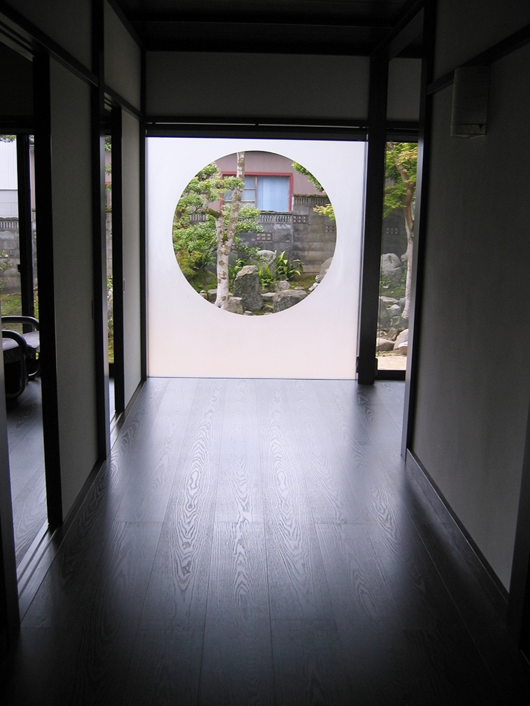 古民家風新築住宅:廊下