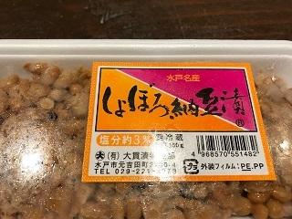 しょぼろ納豆