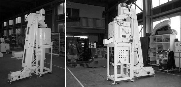 CSコンベア+小型遠心分離機複合機