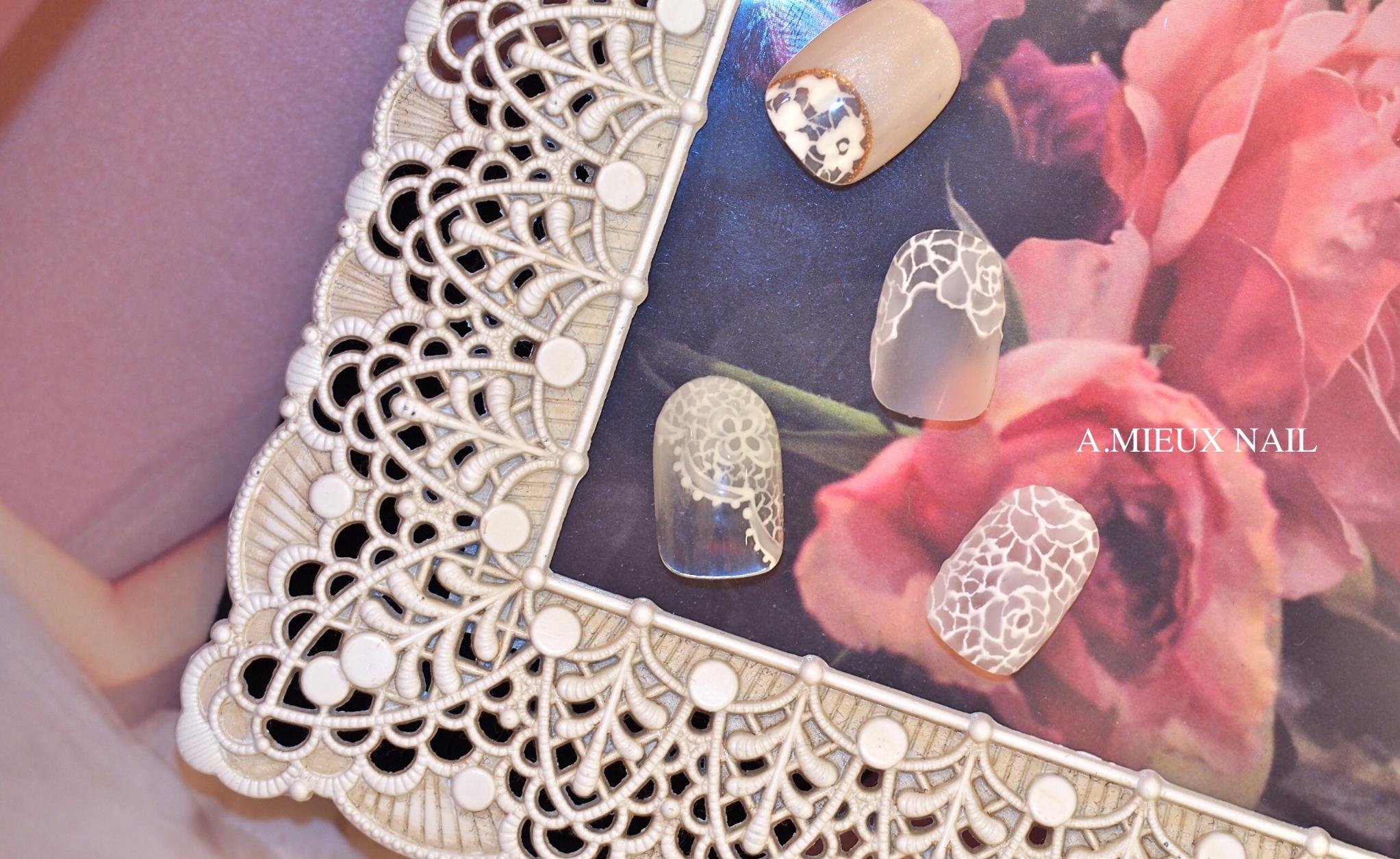 静岡結婚式ネイル花嫁ブライダルネイルウェディングネイル