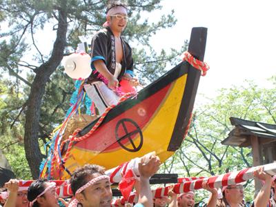 春:治水神社大祭