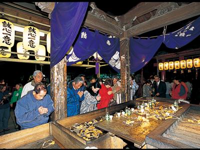 冬:千代保詣り