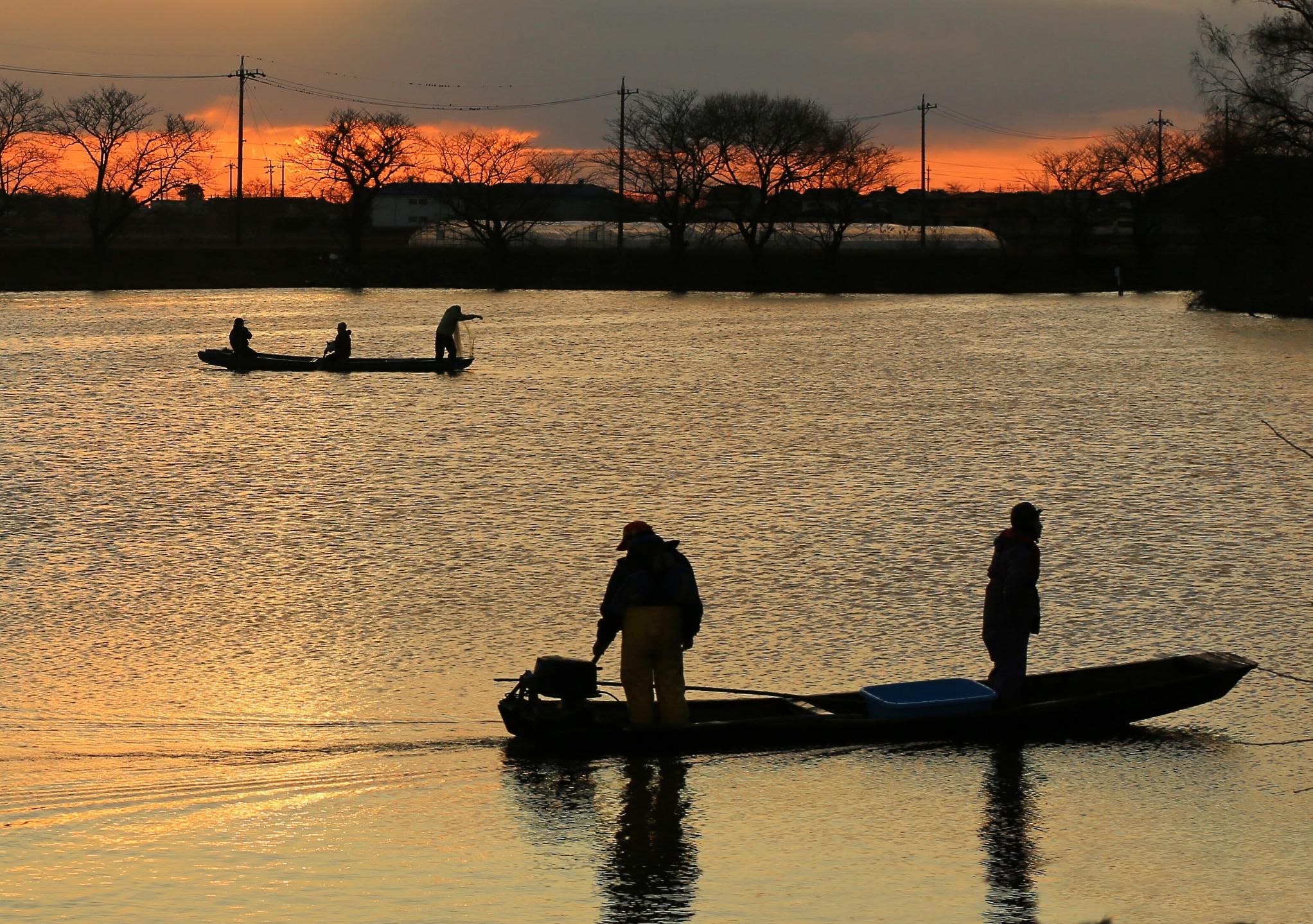 2回 冬 佳作 寒ブナ漁の朝