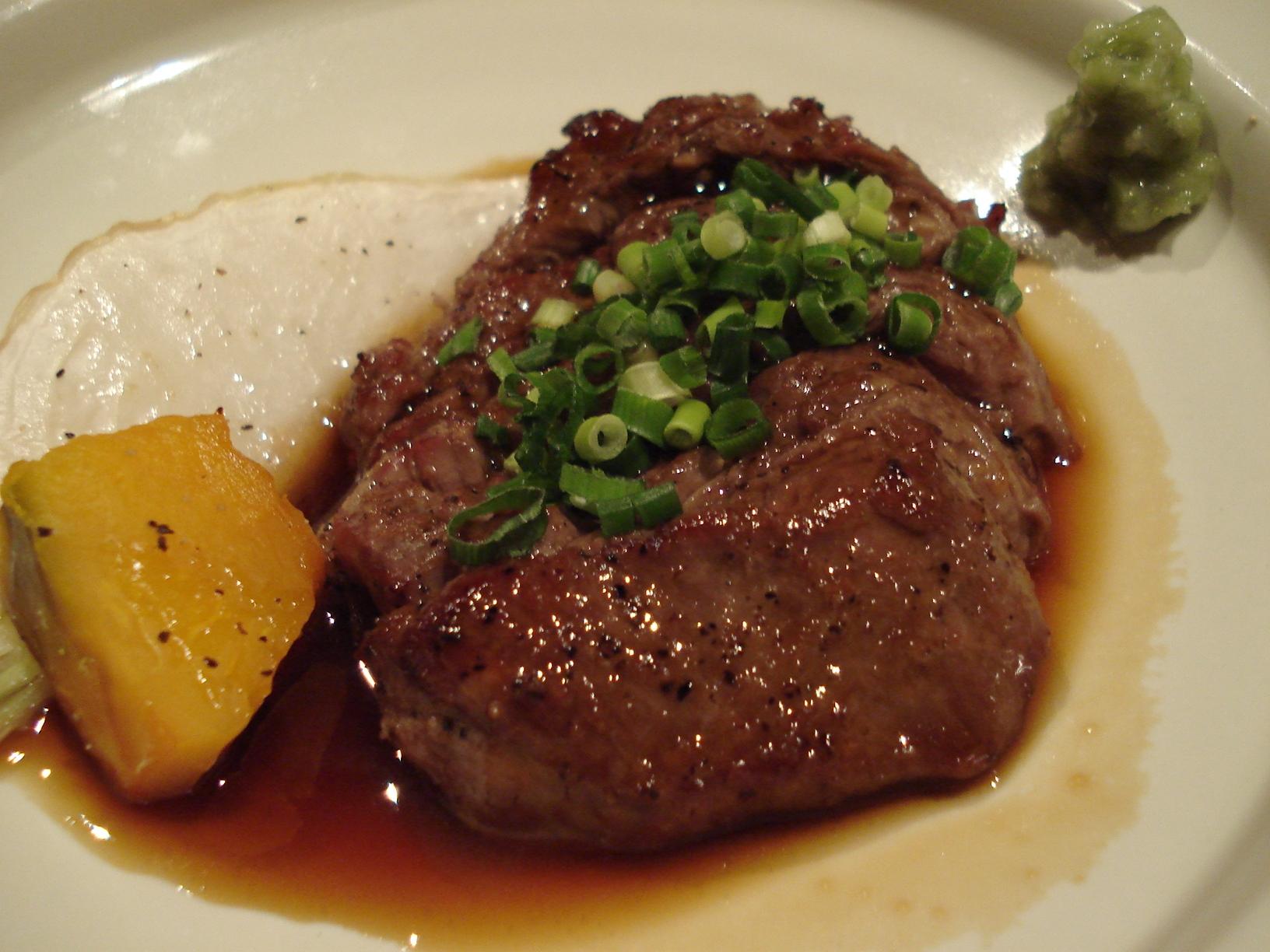 たまり醤油_肉