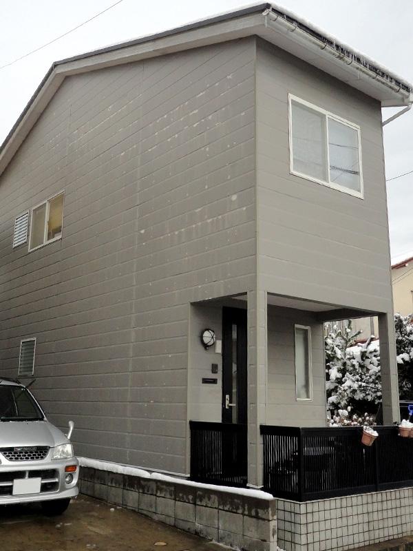金沢市M様邸外壁塗装工事