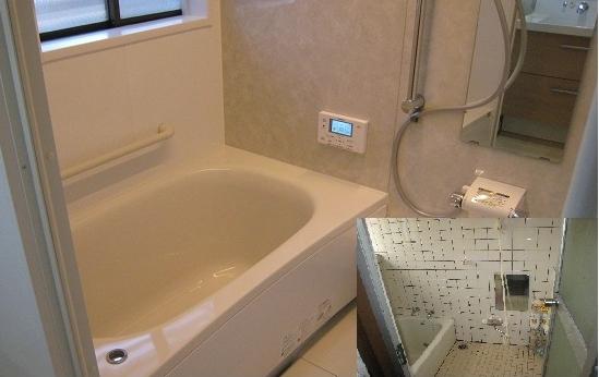金沢市I様邸浴室