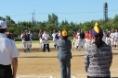 北部地区学童野球連盟40周年記念OB大会開会式08