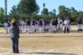北部地区学童野球連盟40周年記念OB大会開会式09