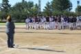 北部地区学童野球連盟40周年記念OB大会開会式10