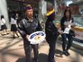 100周年記念奉仕チャレンジアイバンク街頭キャンペーン04