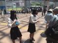 100周年記念奉仕チャレンジアイバンク街頭キャンペーン23