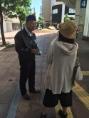 100周年記念奉仕チャレンジアイバンク街頭キャンペーン25