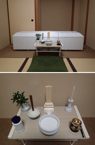 枕飾りの配置