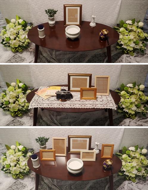 リビング(テーブルの上)