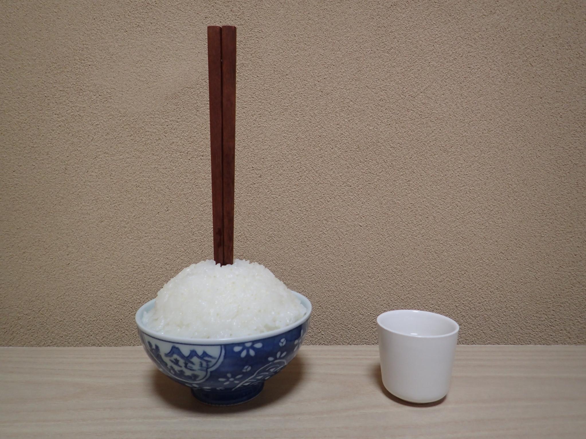 枕飾り(一膳飯)