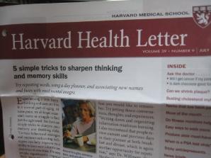 ハーバード大学からの手紙