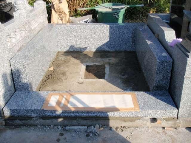 施工の流れ-階段・根石・据付