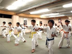 極真会館 福岡県東支部 少年の部