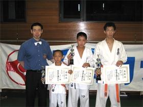2008年度九州交流練成大会開催!一階級で優勝、二階級で入賞!