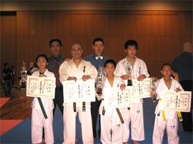 2009年度九州交流練成大会開催される! 北九州支部から二階級で優勝!