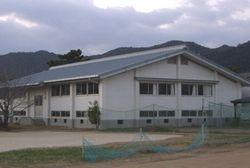 鶴谷中学校 武道場