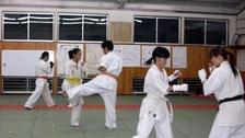 佐伯道場の練習風景01