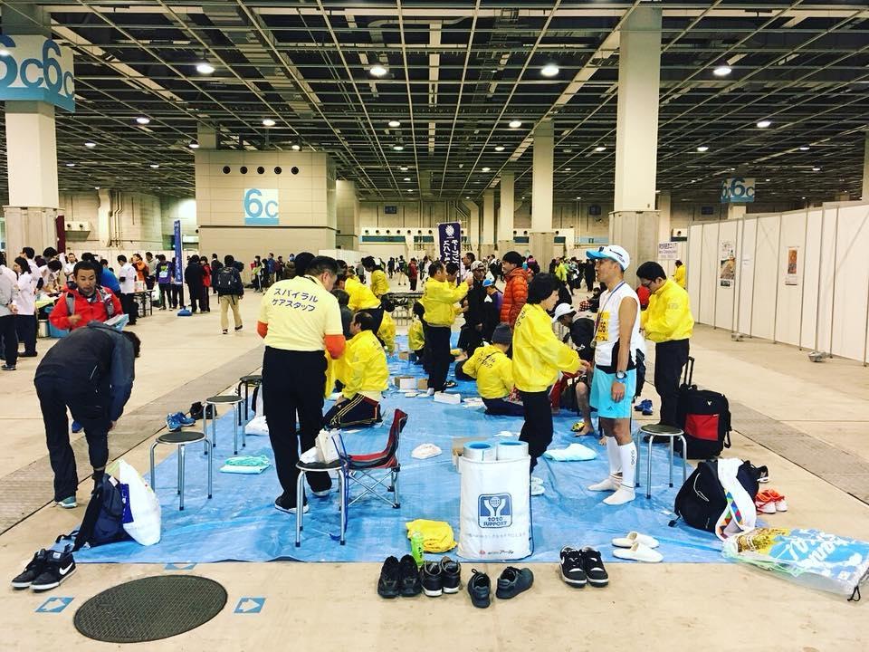 第7回大阪マラソン処置1