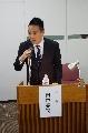 シンポジウム司会 田中亮司会員