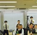 患者測定 牛尾憲史会員 田中圭介会員 ビデオ撮影 田中恒成会員
