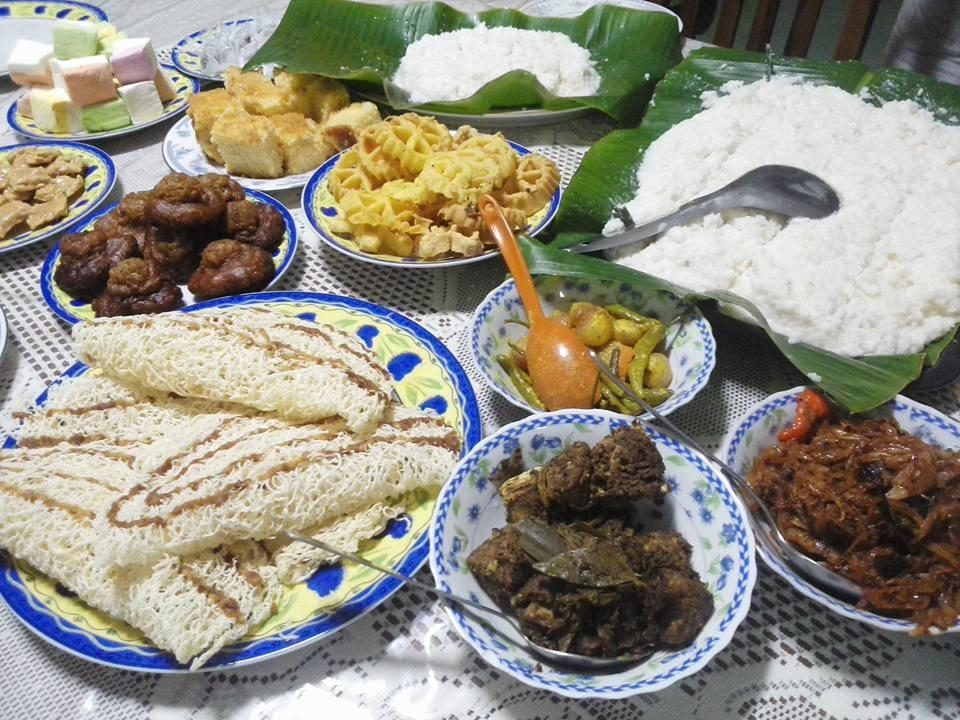 スリランカの正月料理