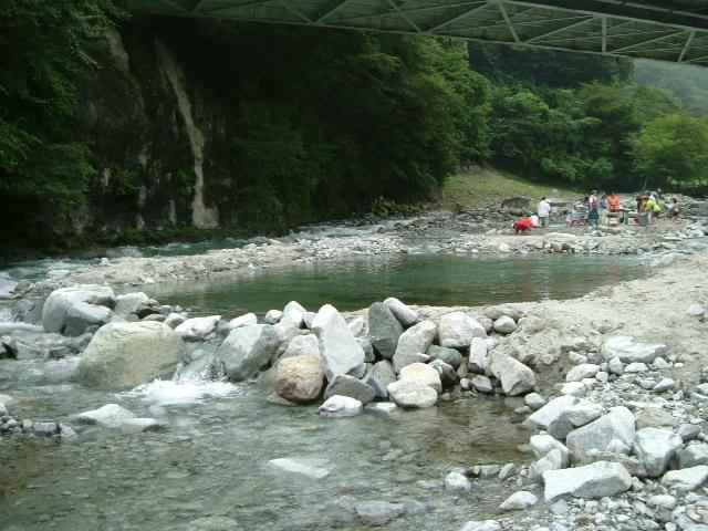 子供用川遊び場1