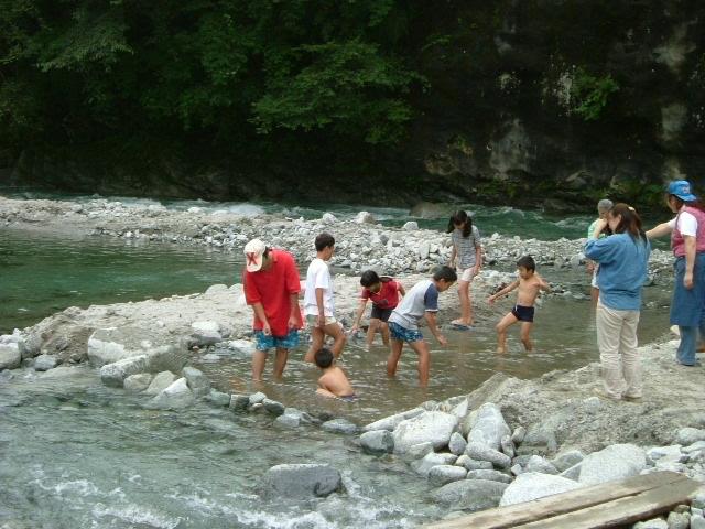 子供用川遊び場4